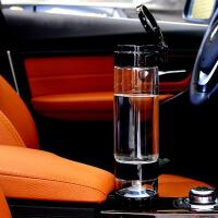 过滤水杯玻璃杯旅行杯茶水分离泡茶杯过滤带盖密封大容量
