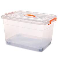 201907011157071802019新品抽屉式收纳箱透明装衣服衣柜组合整理盒家用玩具大号塑料箱子 透明