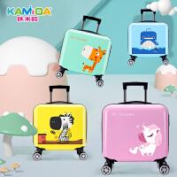 男女童小孩户外旅行密码箱包16寸宝宝行李箱儿童拉杆箱