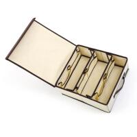 韩式内衣裤收纳盒布艺袜子盒分格整理箱装内裤的盒子有盖内衣盒格