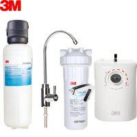 3M净水器 家用厨房厨下式厨下型直饮机净水机 直饮过滤器滤水器 净水设备 DWS6000-CN+瞬间热饮机HWS-US