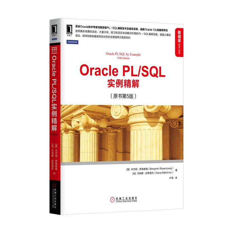 Oracle PL/SQL实例精解(原书第5版) PDF下载